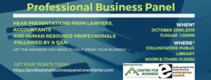 Professional Business Panel Presentation