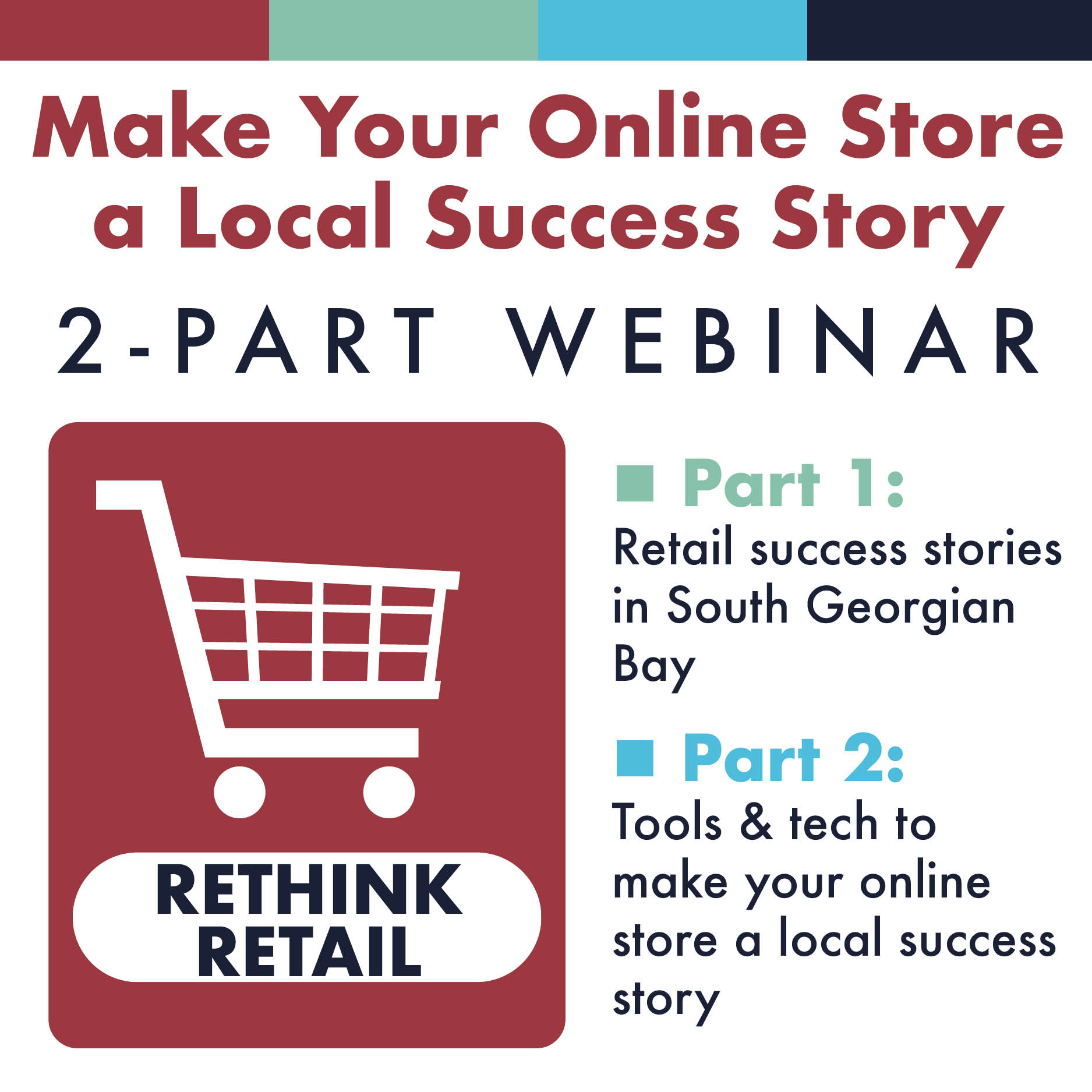 Access to webinar on Making Your Online Store a Local Success Story