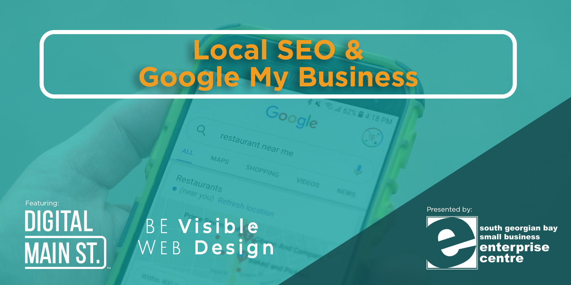 Access to webinar on Local SEO & Google My Business