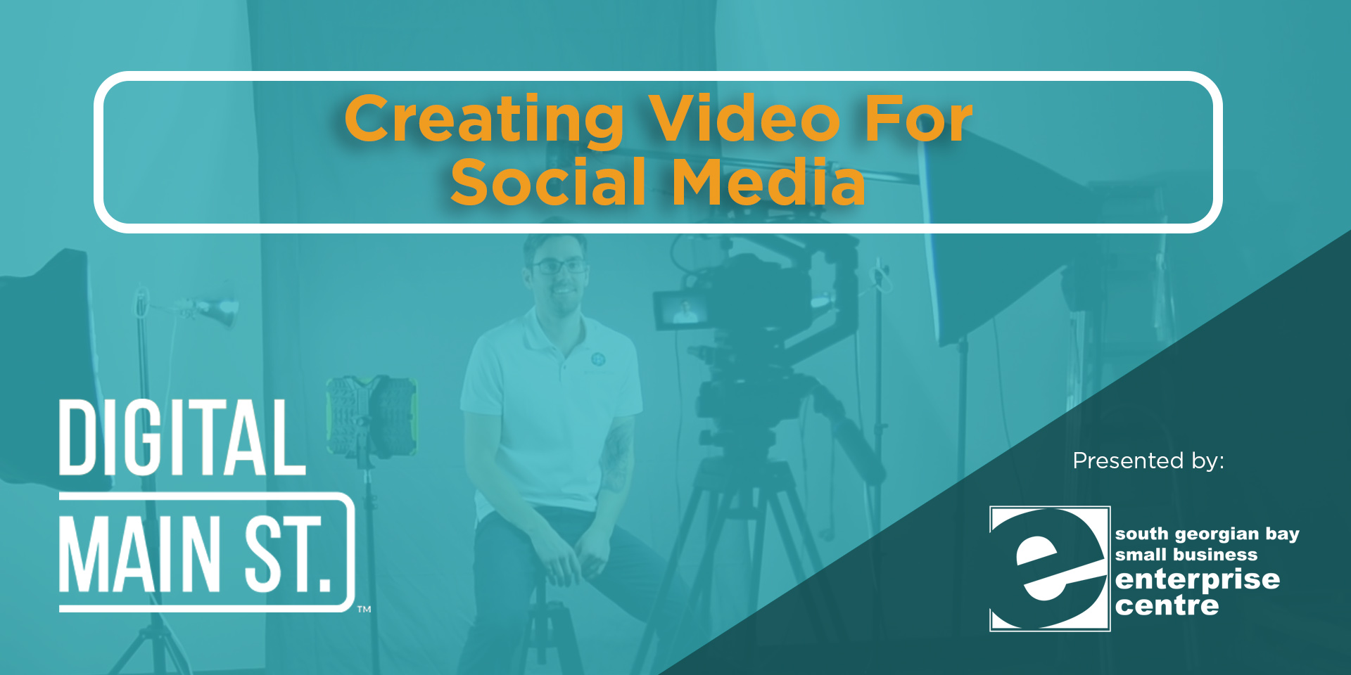 Access to webinar on Creating Video for Social Media