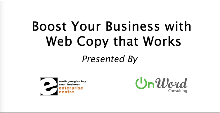 Boost Your Business with Web Copy That Works